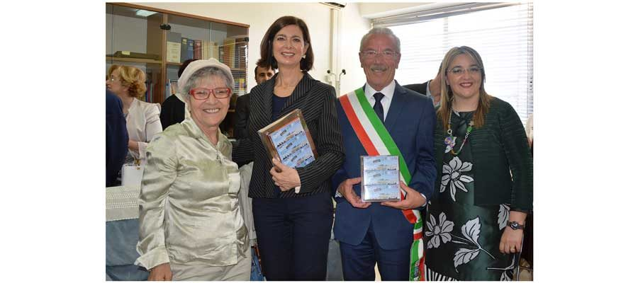 La Boldrini in visita a Modica